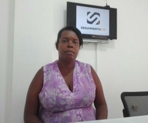 Marbel Luz Pérez visitó las instalaciones de Seguimiento.co para realizar su denuncia.