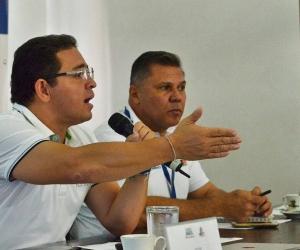 Alcalde durante la II Audiencia de Avance de Obra.