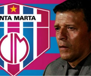 Nilton Bernal, el nuevo técnico del Unión Magdalena.