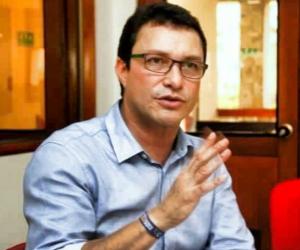 Carlos Caicedo, en entrevista.