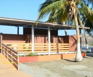 Baños públicos de El Rodadero.