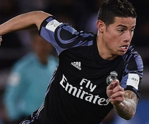 James Rodriguez, jugador del Real Madrid.