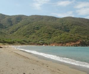 Bonito Gordo es una playa que no suele ser tan visitada como Bahía Concha.