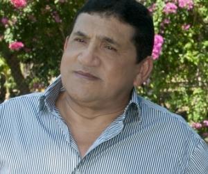 Poncho Zuleta, cantante vallenato.