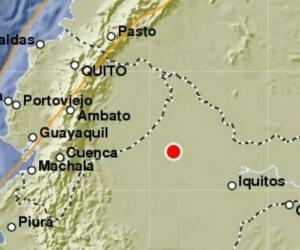 El sismo fue sentido en al menos tres países.