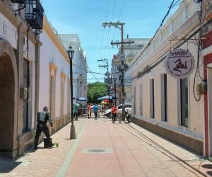 Carrera 4 del Centro Histórico de Santa Marta.