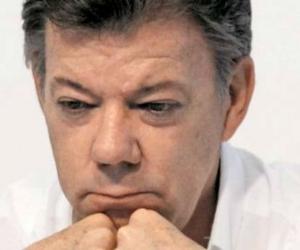 Santos, presidente de Colombia.