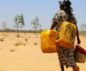 El agua que consume gran parte de los habitantes de La Guajira no es potable.