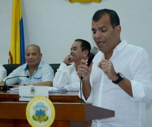 Secretario jurídico de la Alcaldía, Jorge Padilla.