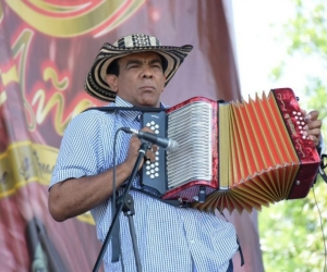 Navín López Araujo, representante samario en el Festival Vallenato.