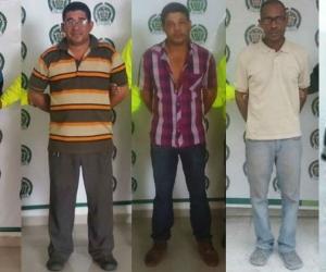 Los detenidos fueron capturados en diferentes municipios del Magdalena.