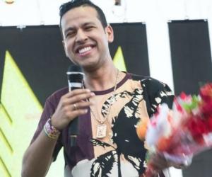 El cantautor Martín Elías.
