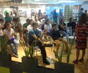 Las charlas se dan en el marco de la feria Expoinmobiliaria.