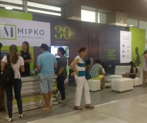 Mipko fue la constructora más relevante en la feria Expoinmobiliaria 2017.