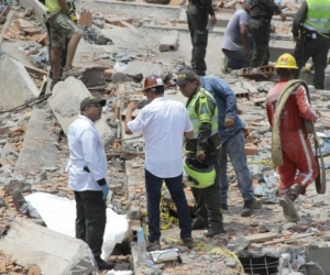 Al parecer se habrían expedido una licencia falsa para la construcción del Edificio Torres de Blas de Leso II, el cual dejó más de 20 muertos al caerse a finales de abril pasado.