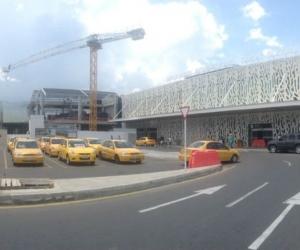Terminal del Aeropuerto Simón Bolívar.