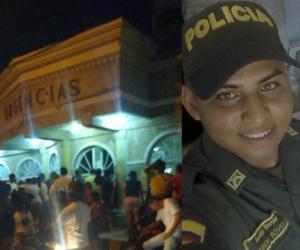 Ramón Bovea, auxiliar de la policía herido en el ataque a bala.