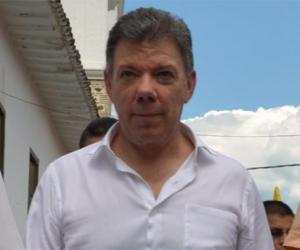 Juan Manuel Santos, presidente de la República.