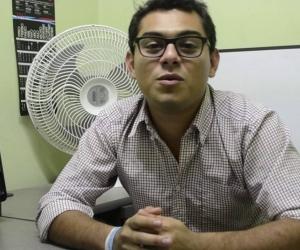 Anderson Marín, representante estudiantil de la Universidad del Magdalena.