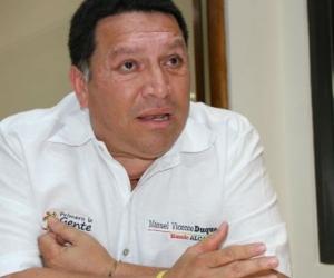 Manolo Duque, alcalde de Cartagena.