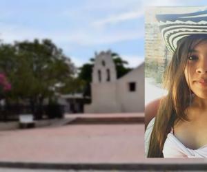 Eilen Deluque es la menor que desapareció en el barrio Mamatoco.