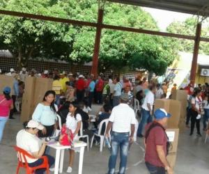 Los puestos de votación ya están abiertos en Ocaña (Norte de Santander) y El Copey (Cesar).