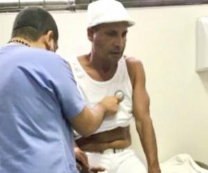 Farid Ortíz valorado por los médicos.