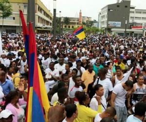 Buenaventura sigue protestando por lo que considera el olvido del Gobierno Nacional hacia sus ciudadanos.