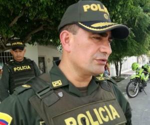 El coronel Jose Luis Palomino.
