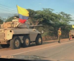 Ministerio de Defensa Nacional de Colombia respondió a Venezuela y dijo que las tropas seguirán haciendo control.