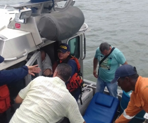 Las condiciones las condiciones meteomarinas adversas que se presentan habrían sido la causa principal del volcamiento embarcación.