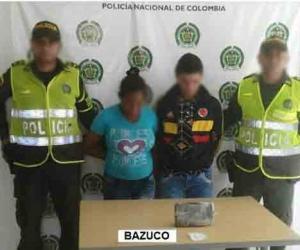 Los capturados Ricardo Enrique Tapias Novoa y Doris Elena Meza Orozco, fueron conducidos y dejados a disposición de la Unidad de Reacción Inmediata de la Fiscalía de Ciénaga.