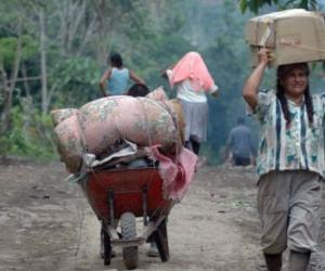 El número de desplazados en Colombia es mayor al de países como Siria, Sudán, Irak y República Democrática del Congo.