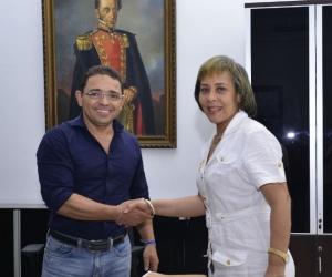 Blanca Rosa Fernández, secretaria de salud del Distrito.
