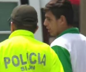 El abusador fue capturado en una cancha de tejo.