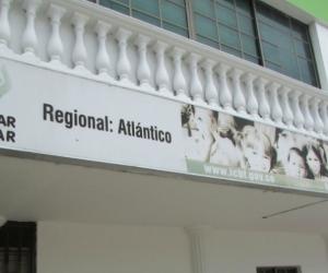 Sede del ICBF regional Atlántico.