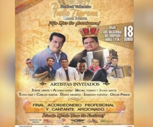 El Festival Vallenato Indio Tayrona se realizará en Santa Marta del 15 al 18 de junio.