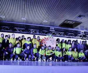La presentación se hizo en la sede del Instituto de Deportes de Bogotá.