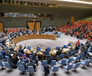 Reunión del Consejo de Seguridad de la ONU.