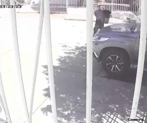 Imagen de la imagen de la cámara de seguridad.