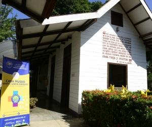 Casa Museo García Márquez en Aracataca.