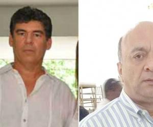 Álvaro Cotes Vives (Izq) y Hernando Escobar (Der).