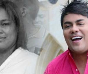 Mama Beatri y el Churo Díaz.