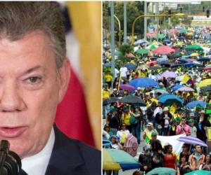 El presidente Santos aseguró que no puede ofrecer más.