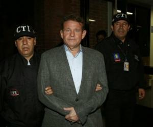 Otto Bula, excongresista detenido por el escándalo Odebrecht.