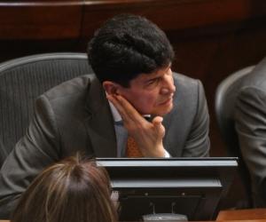 Saúl Cruz, subsecretario del Senado.