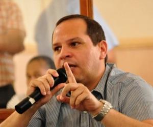 Alex Velasquéz, diputado del Magdalena.
