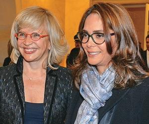 Exministras Cecilia Álvarez Correa y Gina Parody.