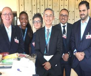 Directores de las organizaciones colombiana que defienden los derechos de la comunidad LGBT.