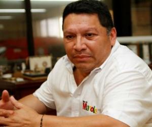 Manuel Vicente Duque Vásquez, alcalde de Cartagena.